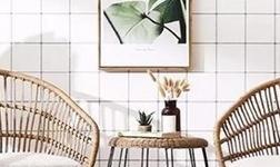 复古的藤编家具也能玩设计感