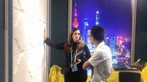 2018秋季广交会|金达莱以墙饰为钥匙,解锁国际新市场