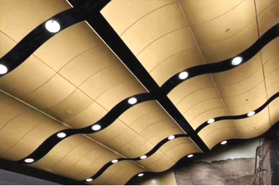 非标定制冲孔型勾搭板天花,尽在佛山正一金属建材