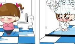 这个冬天洗澡全靠德立淋浴房保暖