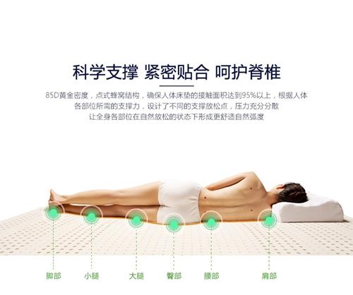 乳胶床垫的利弊分析:长期使用乳胶床垫睡眠更健康