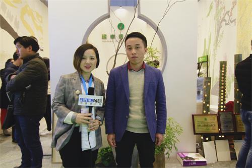 中国建材网专访蕴丰硅藻泥销售经理――沈先飞