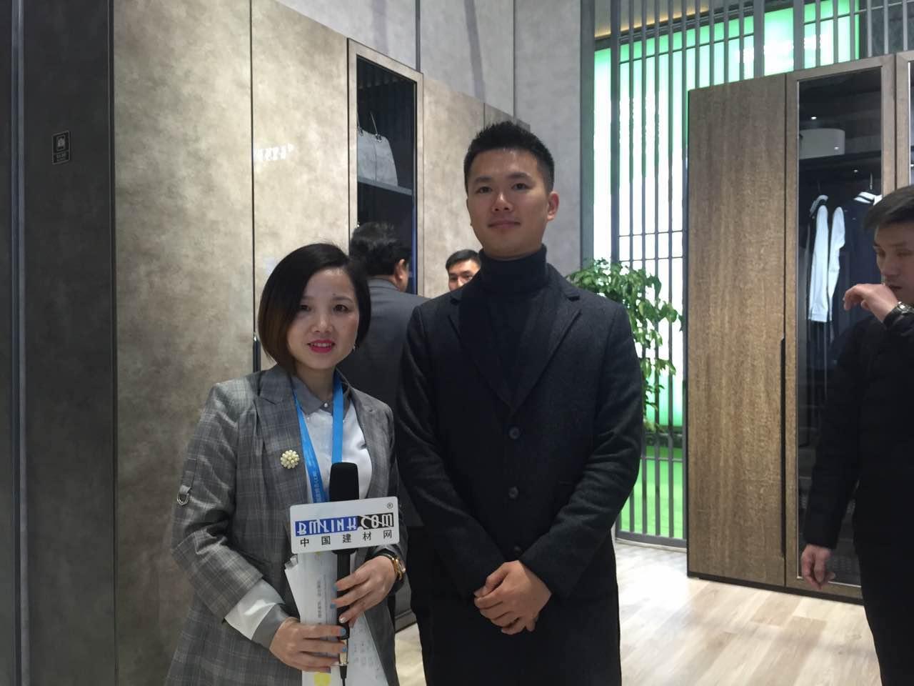 中国建材网专访拉迷全屋定制总经理――林汶