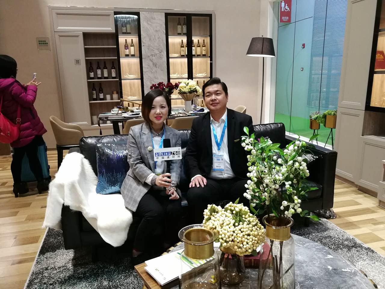 中国建材网专访千年舟全屋定制营销总监――程维