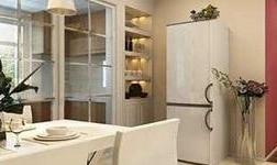 廚房酒柜推拉門給你不一樣的裝飾體驗