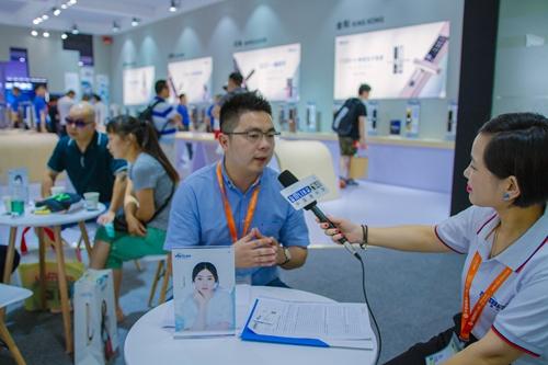 【中国建博会特辑】建材网专访因特总经理――周秀凯