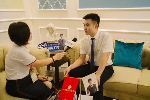 【中国建博会特辑】建材网专访北疆硅藻泥营销总监――唐正龙