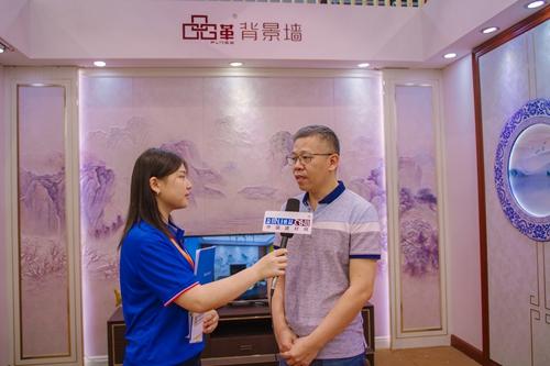 【中国建博会特辑】建材网专访品革总经理――林剑思