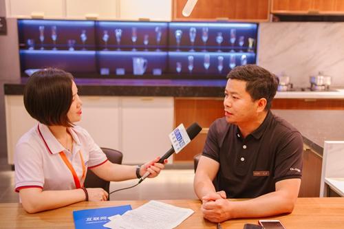 【中国建博会特辑】建材网专访我乐厨柜事业部总经理――张祺