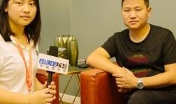 【中国建博会特辑】中国建材网专访雅阁定制顶墙副总经理――沈文彬