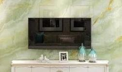 真·艺术·涂料「第6话」|梦幻玉石系列·翡翠绿混沌剔透墙面背景