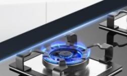 火王触屏燃气灶,八段火力,清洁只需20秒!