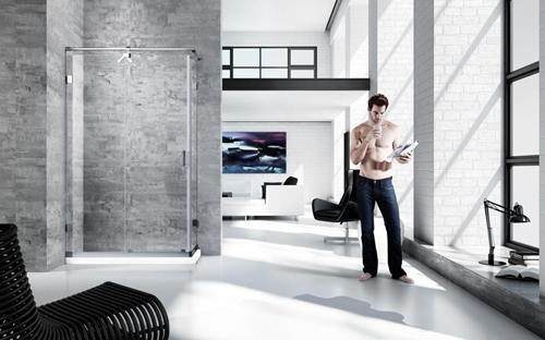 德立淋浴房專利技術  提升推拉門淋浴房安全性