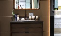 新中式卫浴间搭配攻略高宝实木浴室柜了解一下?