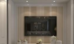 蓝天豚硅藻泥:2018年终总结,被客户翻牌更多的电视背景墙