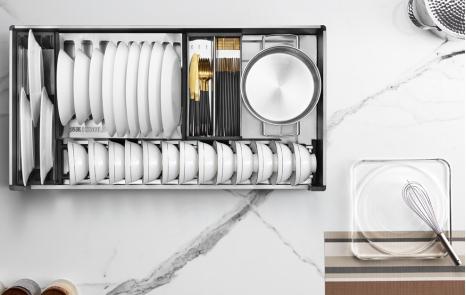 总嫌厨房空间小?悍高让你高效利用橱柜收纳打造厨房大空间
