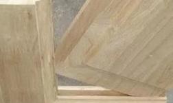 判斷是否是實木門還是實木貼皮門