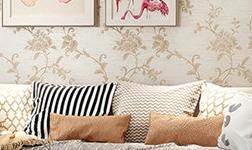 科翔墻布,釋放美式的舒適浪漫