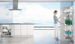 廚房收納有訣竅,悍高黑鉆廚房功能五金讓廚房收納事半功倍