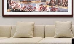 小小墙面学问多 易从网手把手教你客厅沙发墙装饰画选择