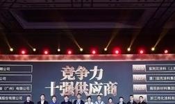 美涂士再度蝉联中国建筑涂料行业竞争力10强!