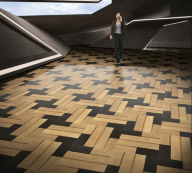 金钢铂林联袂欧洲8大进口地板品牌亮相地材展