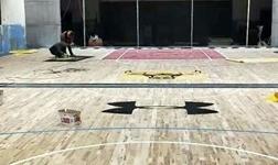 给铺装翻新后的体育场馆运动木地板上漆该注意什么?