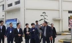 【热烈欢迎】嵊州市钱副市长一行莅临蓝炬星视察指导!