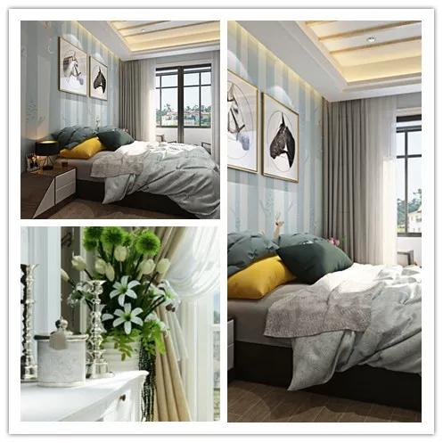 掌握家装蓝天豚硅藻泥色彩搭配套路,治愈蓝与柔光黄的组合