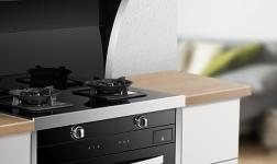 万事兴蒸烤一体集成灶,完美解决厨房空间问题
