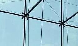 点支撑式玻璃幕墙的结构