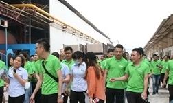 一片瓷砖的诞生:广东陶企生产基地探秘之旅!