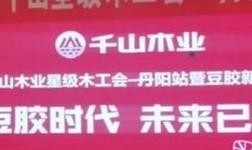 千山木业星级木工会(丹阳站):好木工,用大豆胶板材