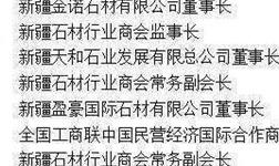 新疆考察团拟在山东平邑开创石材直销平台