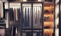 莫高森衣帽间整体衣柜 定制属于您的服装店