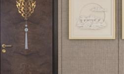 130平极简三居室,这个水性漆木门搭配,真有品!