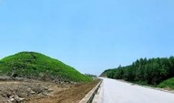 石材循环经济产业园考察调研