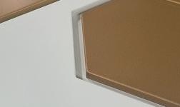 组合双层多色铝金属天花