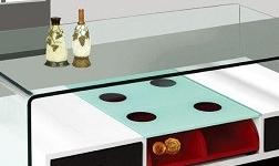 家庭使用玻璃家具的优点 玻璃家具有什么保养常识