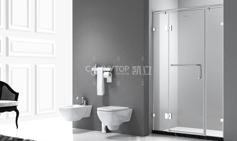 淋浴房 做時尚浴室干濕分離的zui佳助攻