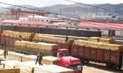 中俄木材加工交易中心:首 家企业开锯投产