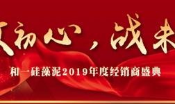 敬初心・战未来|和一硅藻泥2019年度经销商盛典荣耀启幕!