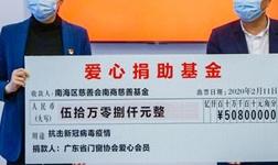 """眾志成城·匯愛成海丨廣東省門窗協會募捐50.80萬元支援抗""""疫""""一線!"""