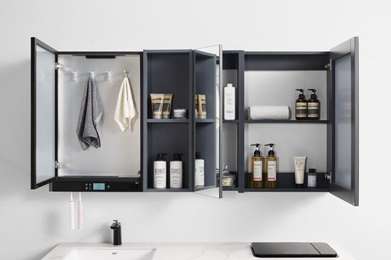 科技引領呵護健康,金柏麗雅多功能智能浴室柜測評