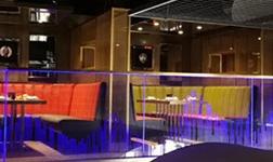 激光內雕玻璃在主題餐廳上的設計應用 明晨三維