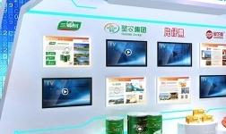 三棵樹亮相云上中國自主品牌博覽會,展現大國品牌涂料力量