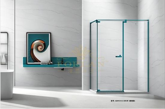 產品測評:法蘭浴王內外雙開淋浴門,極簡風格、輕奢享受