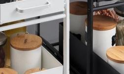 卡贝家居:格外贴心的卡贝抽拉设计置物架
