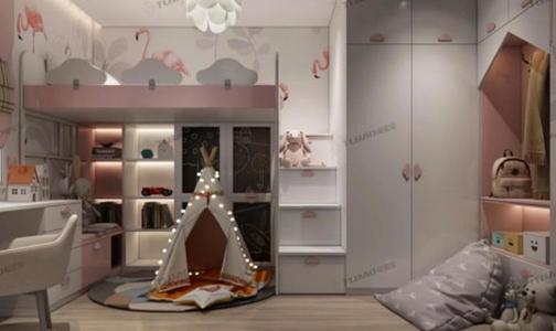 兔寶寶全屋定制傾慕系列整體衣柜—夢想家