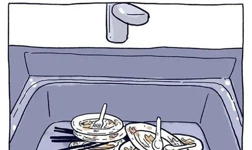 冬天还刷什么碗?大家都在用万事兴洗碗机!!!
